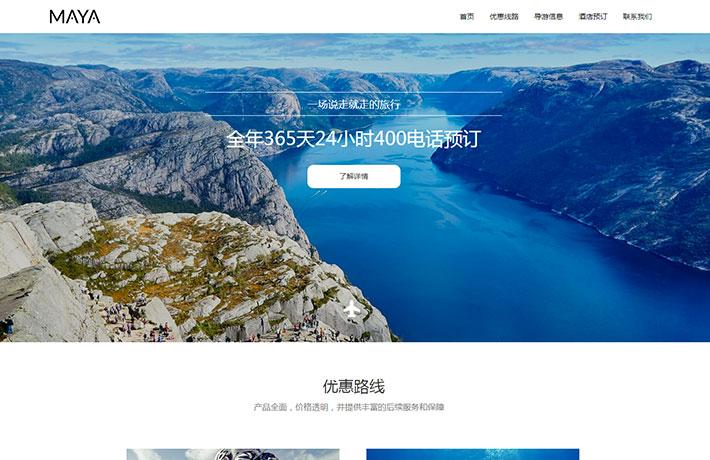 定制企业网站建设案例1